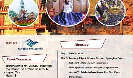 Program EduTrip ke Korea Selatan dari TEMaN Darbi